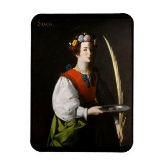 Saint Lucy Kitchen Magnet