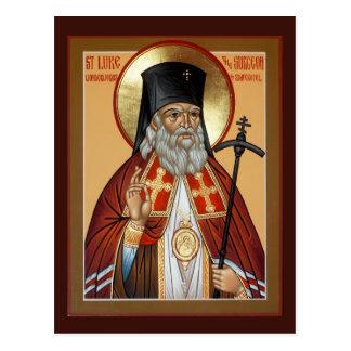 Saint Luke the Surgeon Prayer Card Postcard