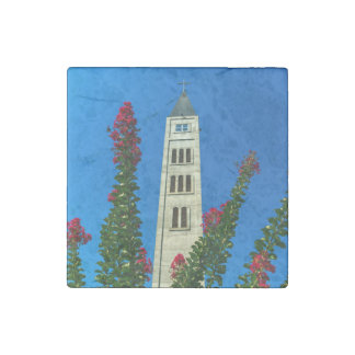 Saint Luke tower in Mostar, Bosnia and Herzegovina Stone Magnets