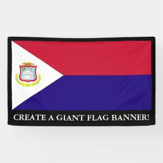 Saint Maarten Flag Banner