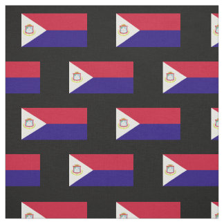 Saint Maarten Flag Fabric
