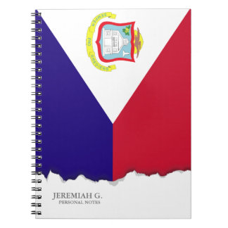 Saint Maarten Flag Note Book