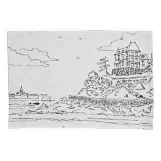 Saint-Malo, Saint-Enogat | Dinard, Brittany Pillowcase