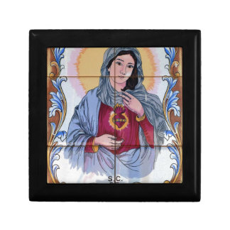 Saint Maria in catholic church Gift Box