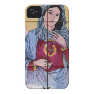 Saint Maria in catholic church iPhone 4 Covers