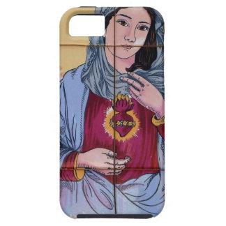 Saint Maria in catholic church iPhone 5 Case