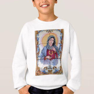 Saint Maria in catholic church Sweatshirt