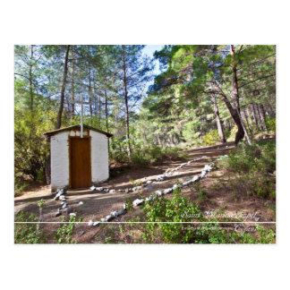 saint marina chapel at Cyprus forest Postcard