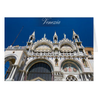 Saint Mark in Venice Card