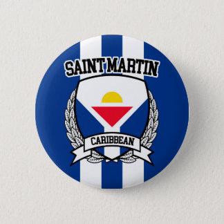 Saint Martin 2 Inch Round Button