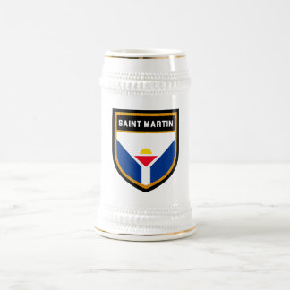 Saint Martin Flag Beer Stein
