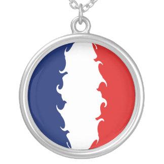 Saint Martin Gnarly Flag Custom Necklace