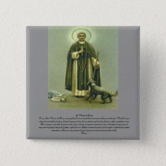 Saint Martin Prayer 2 Inch Square Button