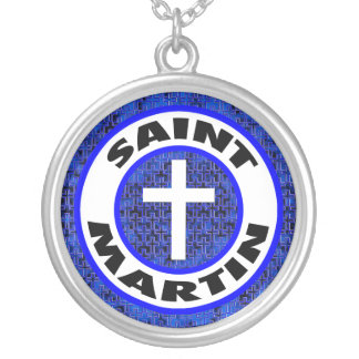 Saint Martin Silver Plated Necklace
