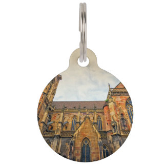 Saint Martin's Church, Colmar, France Pet Nametag