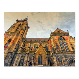 Saint Martin's Church, Colmar, France Postcard