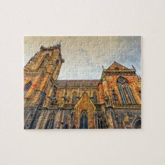 Saint Martin's Church, Colmar, France Puzzle