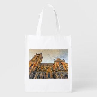 Saint Martin's Church, Colmar, France Reusable Grocery Bag