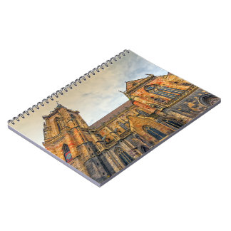 Saint Martin's Church, Colmar, France Spiral Notebooks