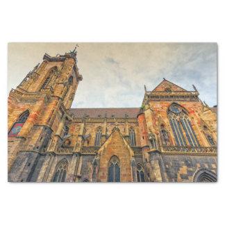 Saint Martin's Church, Colmar, France Tissue Paper