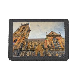 Saint Martin's Church, Colmar, France Tri-fold Wallet