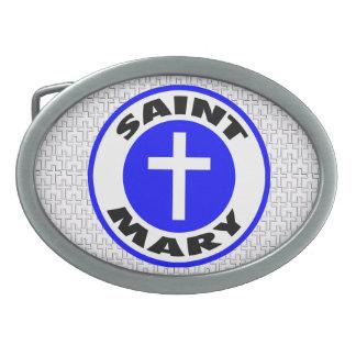 Saint Mary Belt Buckles
