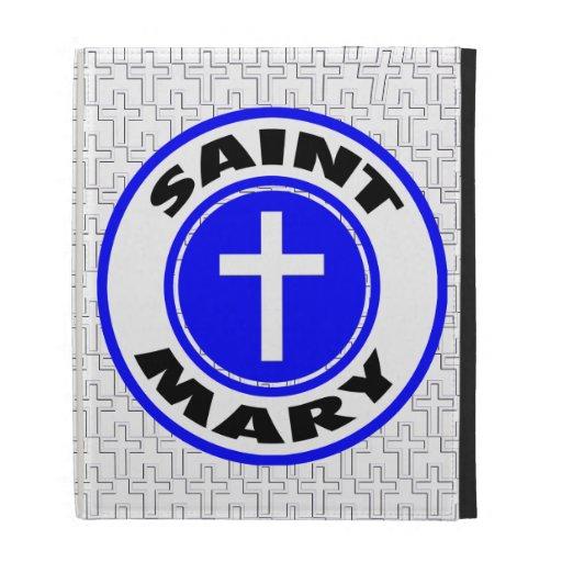 Saint Mary iPad Cases