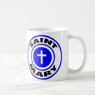 Saint Mary Classic White Coffee Mug