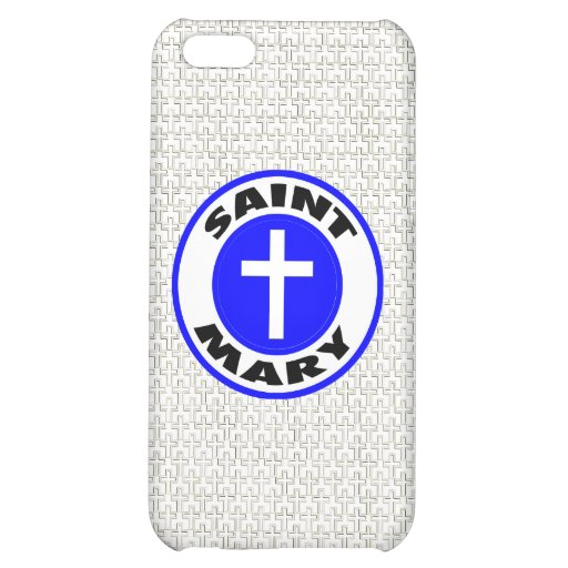 Saint Mary Cover For iPhone 5C