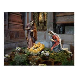 Saint Mary, Jesus and Saint Joseph in Jeronimos Postcard