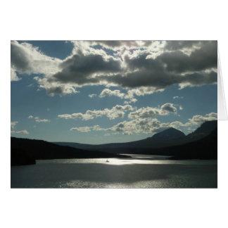 Saint Mary Lake I at Glacier National Park Greeting Card