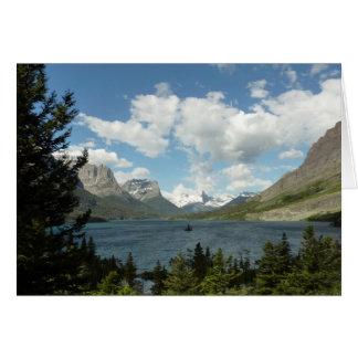Saint Mary Lake II at Glacier National Park Greeting Card