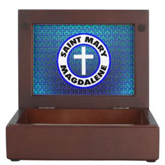 Saint Mary Magdalene Keepsake Boxes