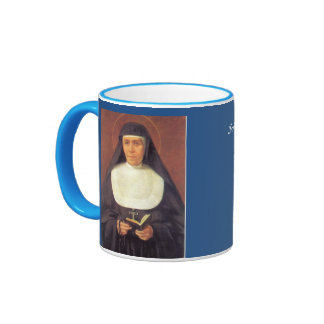 Saint Mary* Mazzarello Cup Tazza de Sta Mazzarello Ringer Mug