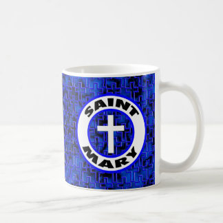 Saint Mary Basic White Mug
