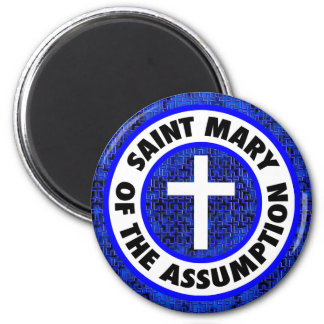 Saint Mary of the Assumption 2 Inch Round Magnet