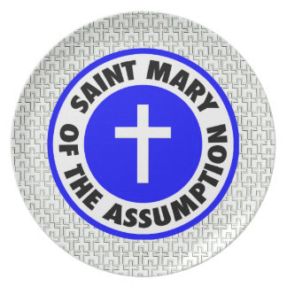 Saint Mary of the Assumption Party Plates