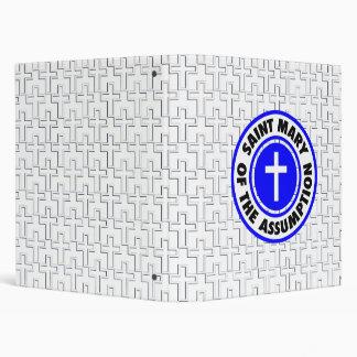 Saint Mary of the Assumption Vinyl Binders