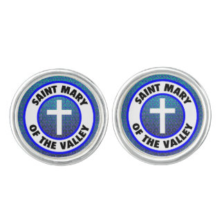 Saint Mary of the Valley Cufflinks