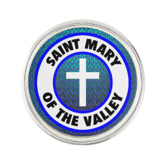 Saint Mary of the Valley Lapel Pin