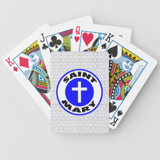 Saint Mary Bicycle Card Deck