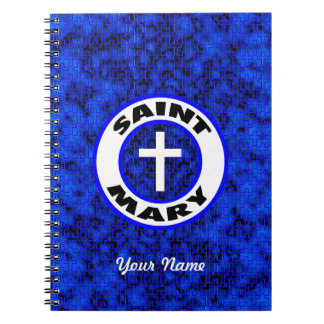 Saint Mary Spiral Note Book