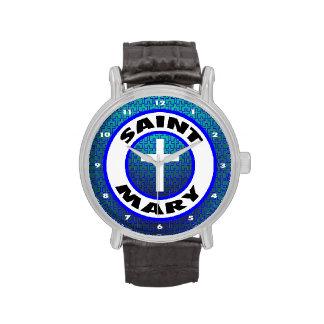 Saint Mary Wristwatch