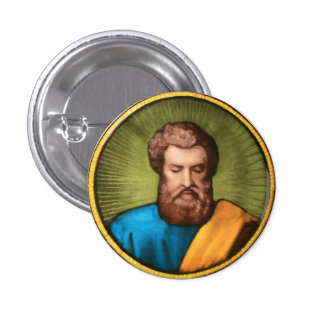 Saint Matthew 1 Inch Round Button