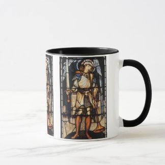 Saint Michael by Burne Jones, Vintage Archangel Mug
