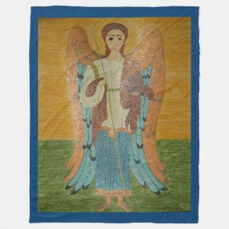Saint Michael Fleece Blanket