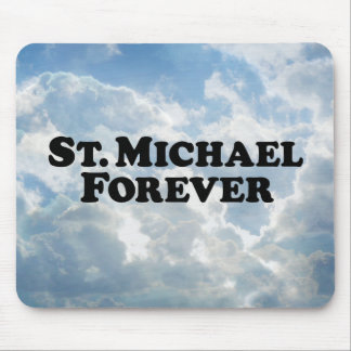 Saint Michael Forever - Basic Mouse Pad