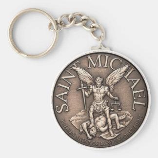 Saint Michael Keychain