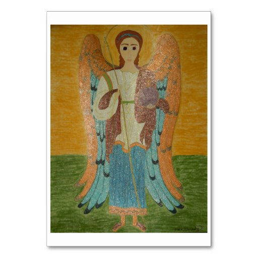 Saint Michael Table Cards