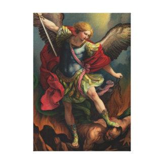 Saint Michael the Archangel Canvas Print